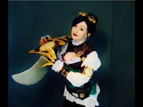 How to make Madame Blade Serqet Cosplay - Smite