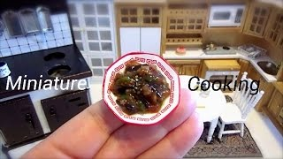 【Miniature Cooking】 The miniature dish which can be eaten really....