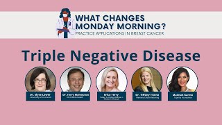 What Changes Monday Morning? | Practice Applications in Breast Cancer | Triple Negative Disease