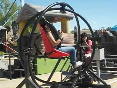 Silla giratoria de el parque de la costa youtube for Sillas para parques