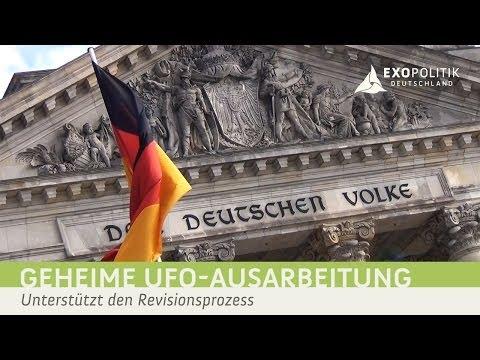 Geheime UFO-Ausarbeitung des Bundestags - Unterstützt den Revisionsprozess