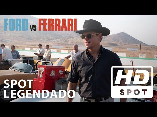 Ford Vs Ferrari Spot Oficial 3 Legendado Hd Hoje Nos Cinemas