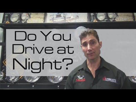 Do You Drive At Night? Learn Importance Of Good Spotlights For Australian Roads