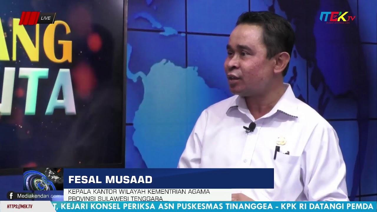 Moderasi Beragam Untuk Sulawesi Tenggara Aman,Rukun Dan Damai
