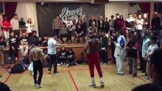Bboy Pocket vs Bboy TaTa | Breaking Finals | Dance Society Vol.1 | 2015