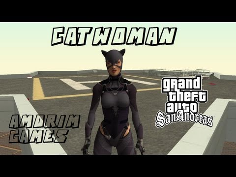 GTA San : Catwoman Injustice