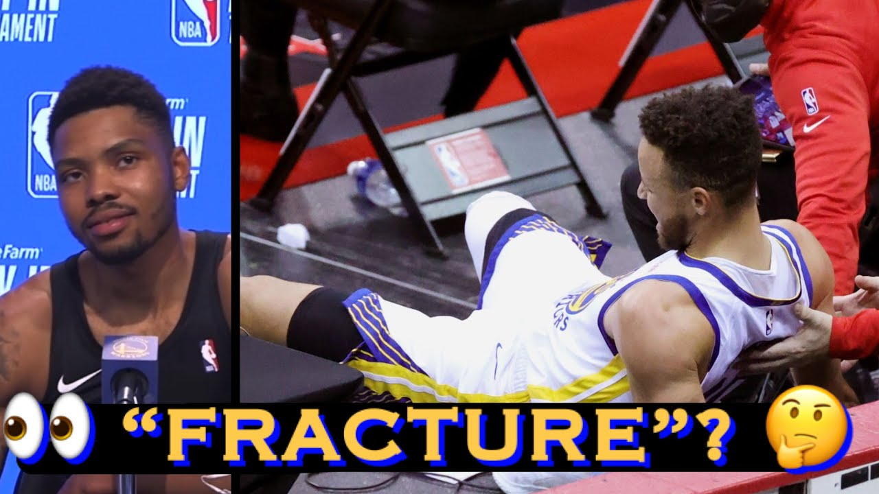 Warriors: Curry's tailbone injury was hairline fracture, Bazemore says