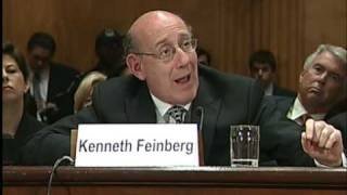 Senator Ensign Questions Kenneth Feinberg Regarding the Economic Recovery of Gulf Coast States