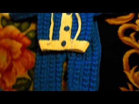 Костюм для мальчика спицами Вязание спицами, крючком