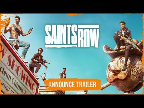 SAINTS ROW Official Announce Trailer  [PEGI]