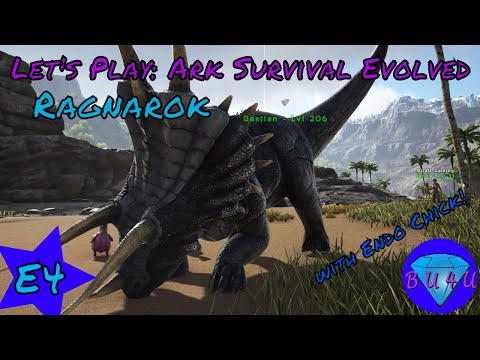 Bastians Dance - Ark Survival Evolved with Endo Chick | Ragnarok | Modded | Let's Play | S1E4