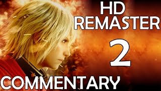 Final Fantasy Type-0 - Commentary Playthrough - Part 2 - First Battles (PS4)