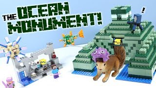 LEGO Minecraft The Ocean Monument Set 21136 Speed Build Review