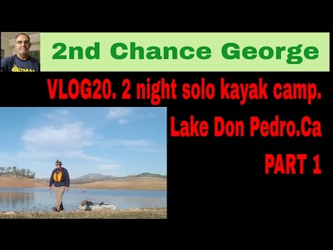 VLOG20  2 Nights On Don Pedro Lake  Part 1