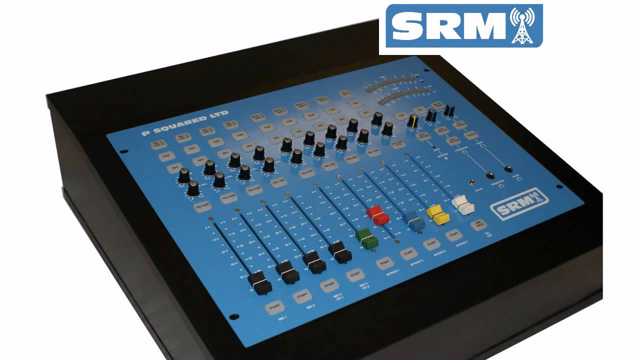 the SRM Broadcast Mixer from P Squared Ltd wmv