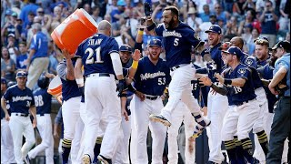 Brewers vs Cubs (Shaw Keeps Postseason Hopes Alive)-  Brewer Classics