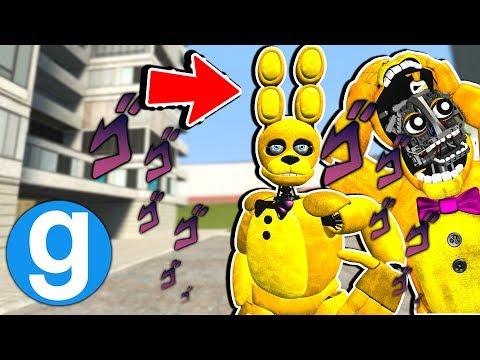 New SpringBonnie Ragdoll Spotlight! [Garry's Mod Sandbox] Five Nights at Freddy's thumbnail