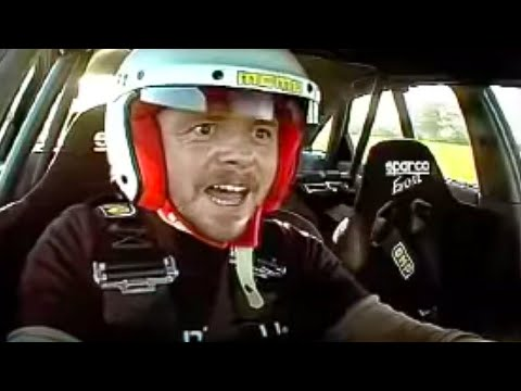 Simon Pegg interview and lap - Top Gear - Series 9 - BBC