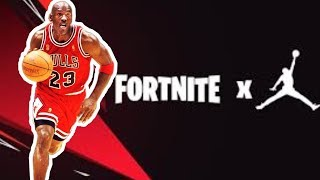 *NEW* FORTNITE X MICHAEL JORDAN EVENT! CONFIRMED LEAKS! MICHAEL JORDAN SKIN MICHAEL JORDAN CHALLENGE
