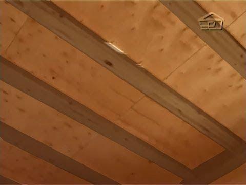 Звукоизоляция межэтажного перекрытия в деревянном доме