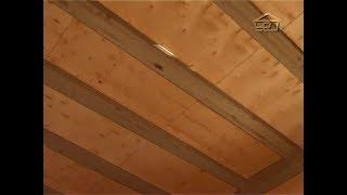 видео Балки перекрытия: деревянные между этажами, межэтажные в кирпичном доме частном, дерева второго варианты и устройство