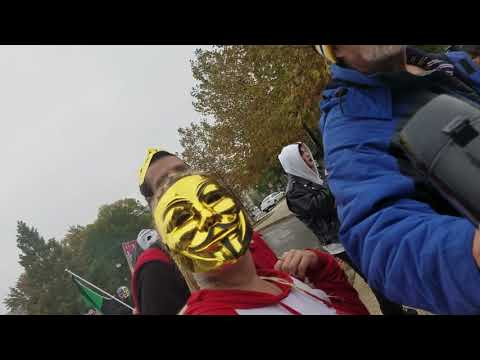 Million Mask March MMM+Targeted Individuals 2017 Washington DC November 5th 2/2 trumpsweapon.com