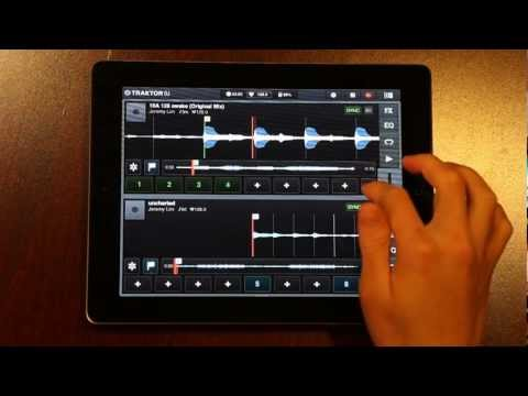 How to Remix Songs in Traktor DJ (iPad) with Loops and Cues by @jeremylim
