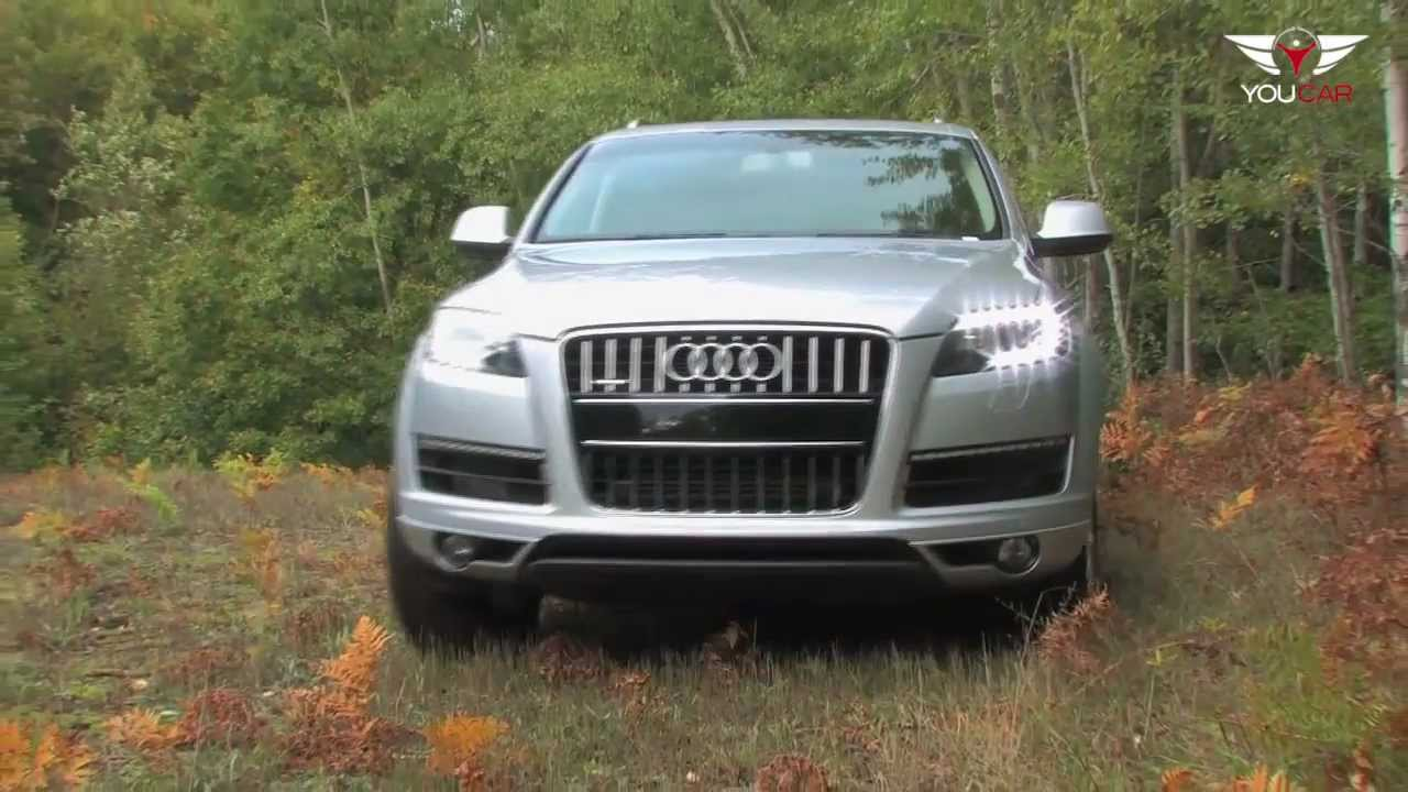 2012 audi q7 3 0 tdi quattro youtube. Black Bedroom Furniture Sets. Home Design Ideas