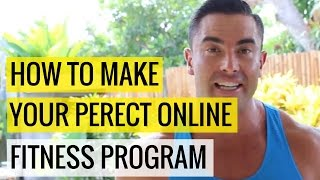 How To Make Your Perfect Online Fitness Program  |  Chris Dufey