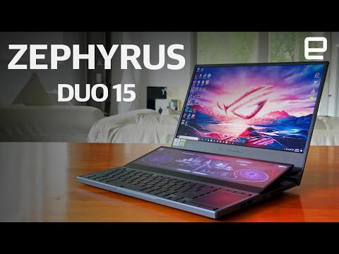 ASUS ROG Zephyrus Duo 15 review: The first good dual-screen laptop