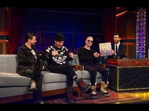 Вечерний Ургант - Джаред Лето и группа 30 Seconds to Mars. 439 выпуск от 13.03.2015 (Jared Leto)