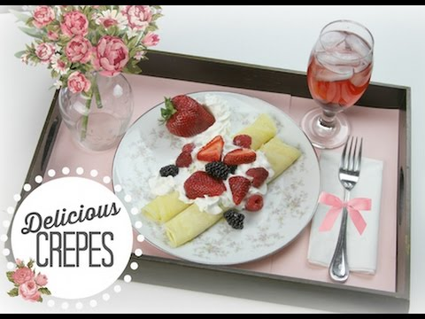 delicious crepes  showmecute  mother's day  youtube