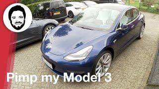 Pimp my Model 3 - Tesla Model 3 bei Tesland getunt!