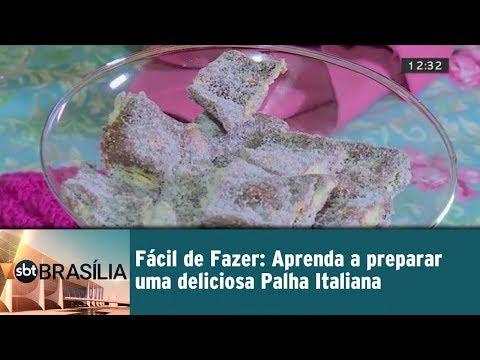 Fácil de Fazer: Aprenda a preparar uma deliciosa Palha Italiana