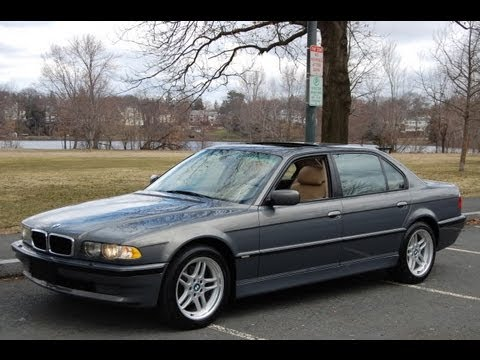 2001 bmw 740il sport stratus green youtube. Black Bedroom Furniture Sets. Home Design Ideas