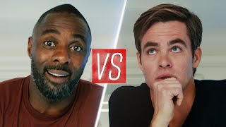 Chris Pine & Idris Elba Film A Charity Video...kinda