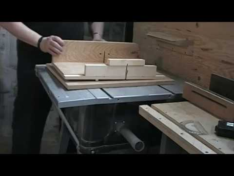 fabrication chariot pour scie sur table cross cut sled. Black Bedroom Furniture Sets. Home Design Ideas