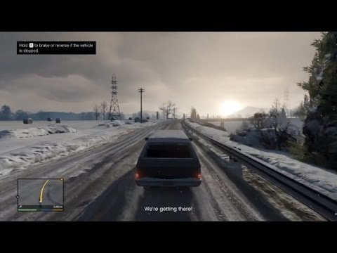 GTA V on PC Gameplay (first 20 minutes)