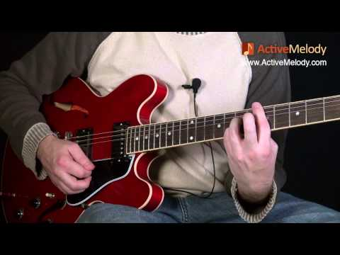 How To Play Jingle Bell Rock on Guitar - Guitar Lesson EP009