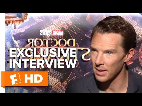 Benedict Cumberbatch and Scott Derrickson Exclusive 'Doctor Strange' Interview (2016)