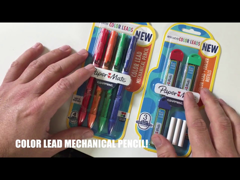 PaperMate Erasable Color Lead Mechanical Pencil Review