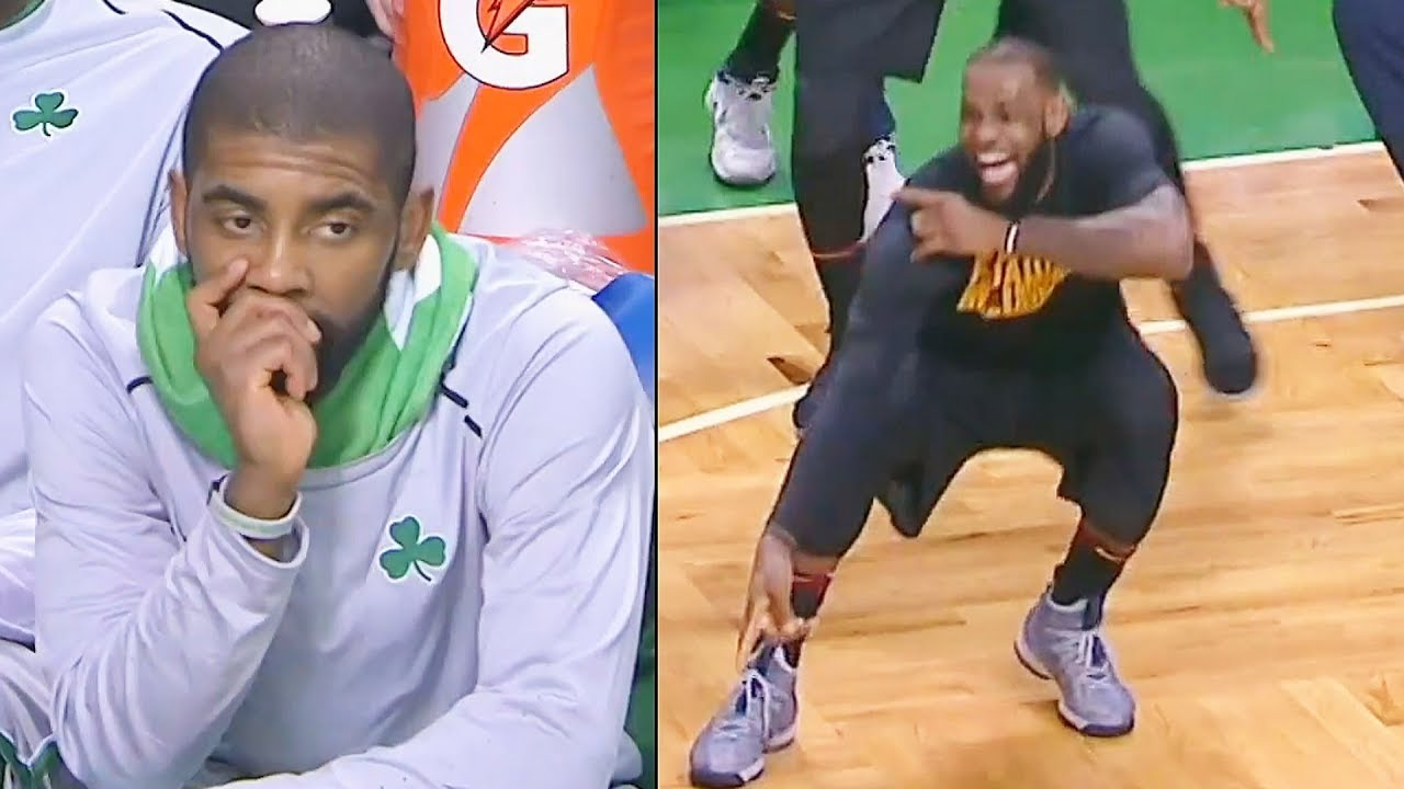 LeBron James EXPOSES KYRIE IRVING & THE CELTICS IN NEW CAVS DEBUT! LEBRON JAMES VS KYRIE IRVING! #1