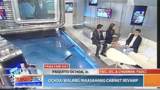 News to Go - Paquito Ochoa: Walang inaasahang cabinet revamp 6/30/11