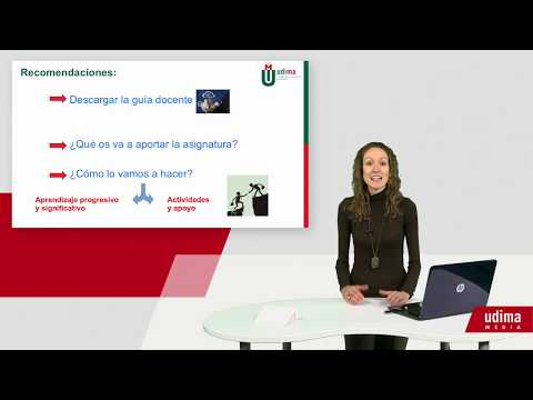 """Docencia - Isabel Martinez - Presentación de la asignatura """"Introducción a la Psicología Aplicada"""""""