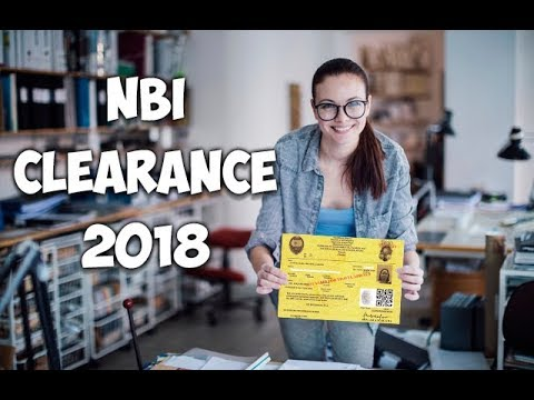 How to apply NBI Clearance Online (2018)