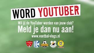 Word YouTuber voor onze club! | VVKatwijkTV
