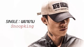 SNOOPKING - พยายาม 「Official Audio」+ Lyric
