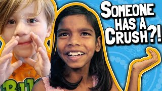 Someone has a CRUSH?! 😱// Kid's First Crush mp3