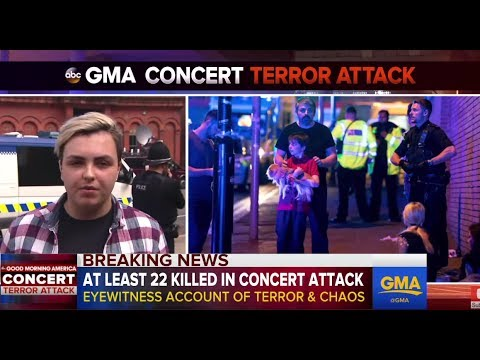 Thumbnail: Ariana Grande concert bombing | Eyewitness on Manchester explosion
