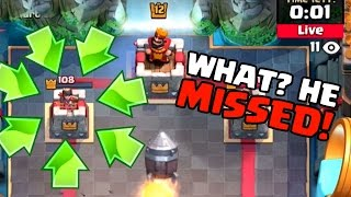 SPYING ON CLANMATES, WHAT ARE THEY DOING?! | Clash Royale | Mortar Cycle Rocket Troll